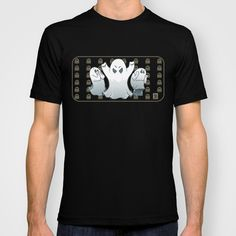 Halloween ghost T-shirt by Alexandre Guillaume   Society6