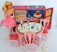 O Dia a Dia Barbie Dona de Casa anos 80 / 90