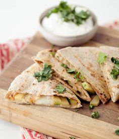 Grilled Cumin-Lime Zucchini Quesadilla by @erin (naturally ella)