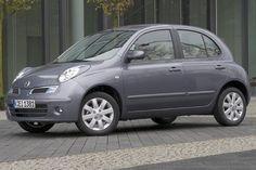 Seite: Nissan Micra  als Kleinwagen / Saloon  - 65 PS / 48 kW