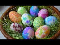 DIY/ Nápady jak ozdobit velikonoční vajíčka - YouTube