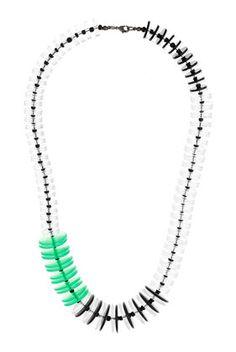 Plastic Disc Necklace