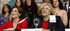 """Ada Colau: """"Barcelona y Madrid consolidarán un eje de revolución democrática"""""""