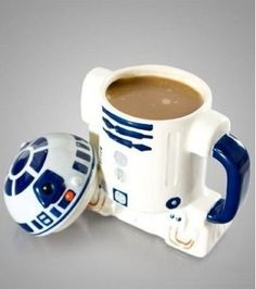 Mug R2D2 3D Star Wars Nathan loves anything Star Wars. Star Trek. Back to the Future. All of it.