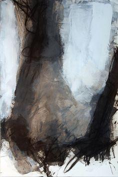 Defiance   cold wax, oil, charcoal   Karen Darling   Flickr