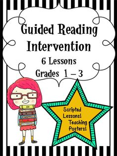 It's always tough to know where to start with intervention in reading! Let these 6 scripted lessons guide you in helping your students!
