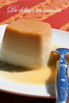 De délices en saveurs: Flan caramel sans oeufs façon Flanby®