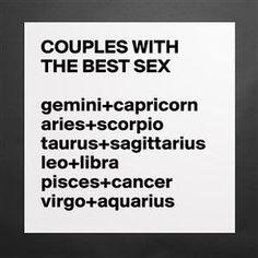 Virgo and aquarius compatibility sexually