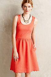 Caye Scalloped Dress
