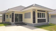 5 Best New Designs for a Three-Bedroom House Two Bedroom House Design, Three Bedroom House, Bungalow House Design, Small House Design, Small Cottage Designs, Small Cottages, Affordable Housing, Home Design Plans, Cool Designs