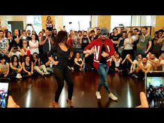 Daniel y Desirée - Crazy in Love - Bachata Day 2016 - YouTube