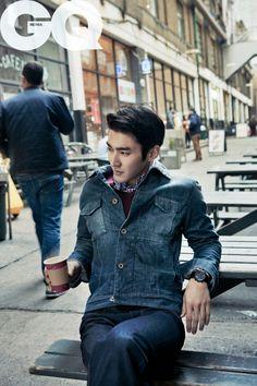 Siwon // GQ Korea // March 2012