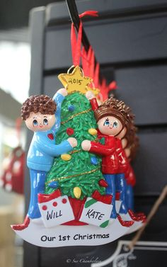 Personalize #Christmas ornaments at The Barn Nursery, Chattanooga!