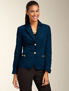 Talbots Grace Fit Cord Jacket