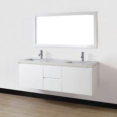 24 Best Wall Mounted Bathroom Vanities Images In 2016