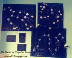 .::Un mundo de pequeñas cosas::.: 463.- Una pared de constelaciones Sistema Solar, Space Projects, Photo And Video, Frame, Painting, Decor, Classroom, Art, Science