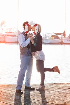 Nautical Themed Family Photo Session by Sienna Rose Photography | Two Bright Lights :: Blog