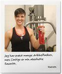 Treningsflasker med den unike Contigoteknologien sørger for at du aldri vil søle drikke i treningsbagen eller når du trener. Flaskene kommer med beltefeste. Flere aktive sportsutøvere har sagt at de med disse flaskene endelig får i seg nok drikke.