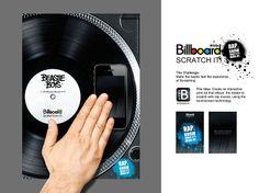 Wicka wicka wha..? Interactive Print Ad - Billboard Scratch It!
