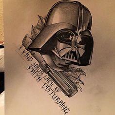 Star Wars darth Vader I find your lack of faith disturbing
