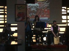 @sharquilla band.. our home band every friday