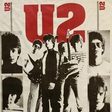 Late 70s U2 poster.