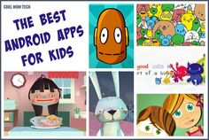 13 of the best Android apps for kids on Google Play - perfect for loading up the tablet on those upcoming road trips