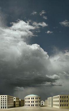 Gioberto Noro. Elogio della nuvola, 2013, cm 178x110 stampa a pigmenti su carta di puro cotone