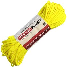 Type III MilC5040h Nylon Commercial Paracord 550 Cord 10ft Neon Yellow -- Click image for more details.Note:It is affiliate link to Amazon.