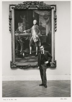 Woody Allen at The Metropolitan Museum of Art by Ruth Orkin in 1963.    www.sundancechann...#Repin By:Pinterest++ for iPad#