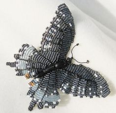 seed bead butterfly