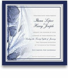 115 Square Wedding Invitations - Snowflake Frost Amor by WeddingPaperMasters.com. $302.45. Now you can have it all! We have created, at incredible prices & outstanding quality, more than 300 gorgeous collections consisting of over 6000 beautiful pieces that are perfectly coordinated together to capture your vision without compromise. No more mixing and matching or having to compromise your look. We can provide you with one piece or an entire collection in a one st...