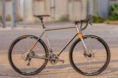 Niner's RLT 9 Steel Disc Cross Bike with Ultegra Hydro
