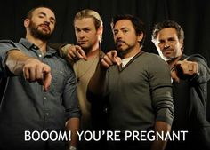 THE AVENGERS whattt haha ? I dont get it but its funny :p