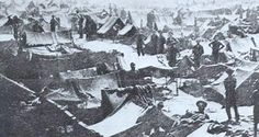 As a prisoner of war Barney spent time in one or more Confederate prisons until finally being transferred to Andersonville, Georgia sometime between February and April of 1864. Andersonville Prison (officially known as Camp Sumter), under the command of Captain Henry Wirz, was to be known for its horrible conditions and low regard for human life. Disease ran rampant throughout the stockade. Sanitation facilities and medical attention were nonexistent. Death occurred in epidemic proportions.