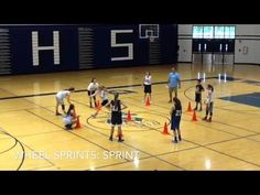 LP Girls Basketball: Agility Drills - YouTube