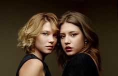 Adèle Exarchopoulos and Léa Seydoux star as  Adèle and Emma in 'Blue Is the Warmest Colour'.  Follow the link attached to this image and read my review of 'Blue Is the Warmest Colour'.  Be sure to 'like', share and leave a comment.
