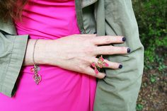 summer bijoux @ipstyle @ring #butterflies #fashion #cool #fuxia #dress #madeinitaly