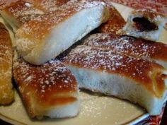 Pecene Buchty - Slovak Baked Buns - have jam inside, sooo yumy!