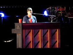 Luke Bryan covers Boyfriend/Easy/Someone Like you.  Basically our marriage medley.  I love this lol <3