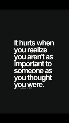And that is the hardest hurt to survive