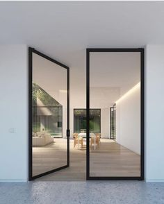 Y E S • You know my love runs deep for steel framed doors  Beauties by AW Doors via @thelocalproject