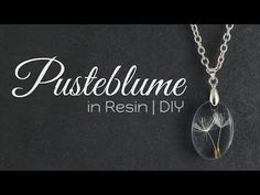 Pusteblume Resin Kette - My list of best Diy and Crafts Diy Resin Necklaces, Diy Jewelry Rings, Diy Jewelry Unique, Diy Jewelry To Sell, Resin Jewelry Making, How To Make Necklaces, Diy Necklace, Wire Jewelry, Jewelry Accessories