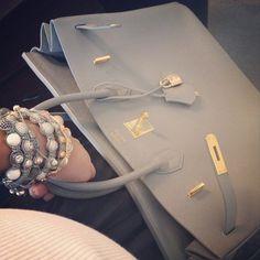 Hermes Etain Birkin 35 Gold Hardware New Authentic | Fashion ...