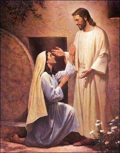 Mary Magdalene Mother of Jesus Christ. Jesus Christ Painting, Jesus Art, Lds Art, Bible Art, Mary Magdalene And Jesus, Jesus E Maria, Marie Madeleine, Pictures Of Jesus Christ