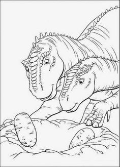 Free Printable Jurassic Park Coloring Pages 460211