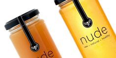Nude Bee Honey Co packaging