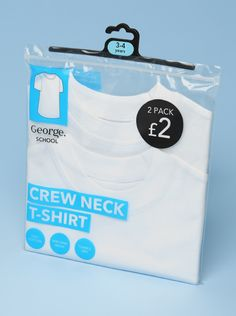 George Kids Schoolwear Packagaing  Retail Graphics, Retail Design, Retail Designers, Brand Identity, Photography