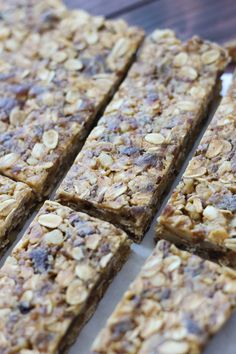 High Fiber Granola Bars // Fork in the Kitchen