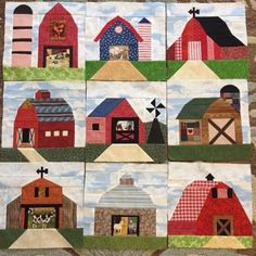 This-Old-Barn-Quilt-Kit-Pieced-Amazing-Work-Partially-Finished-HELP